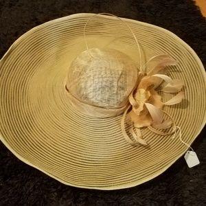 NWT Tan Derby Hat